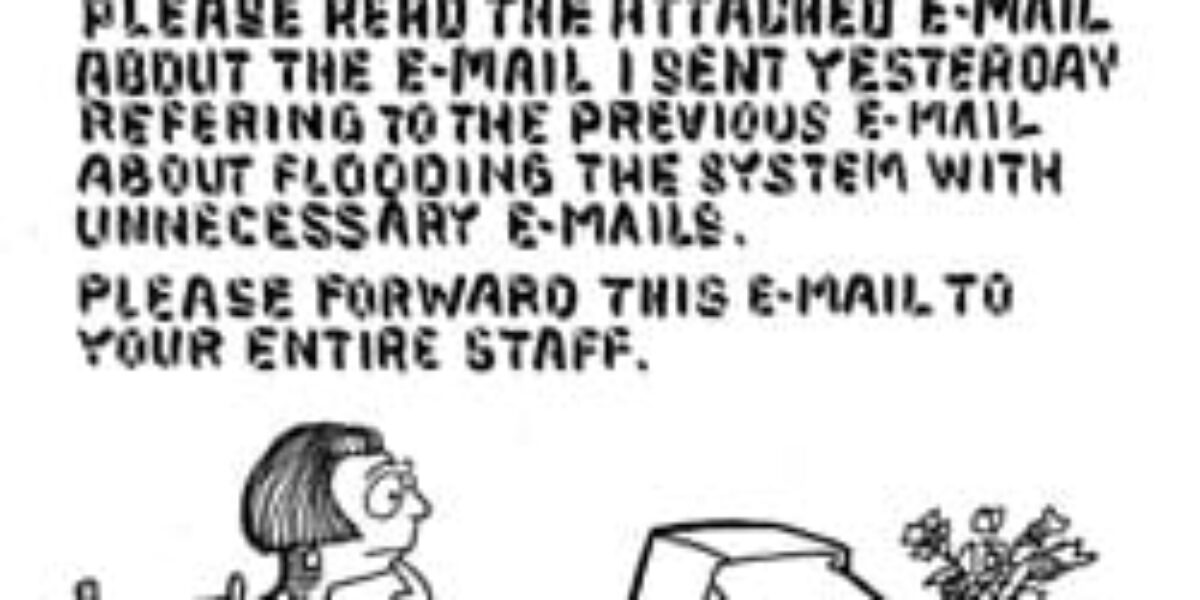 The slow death of e-mail?