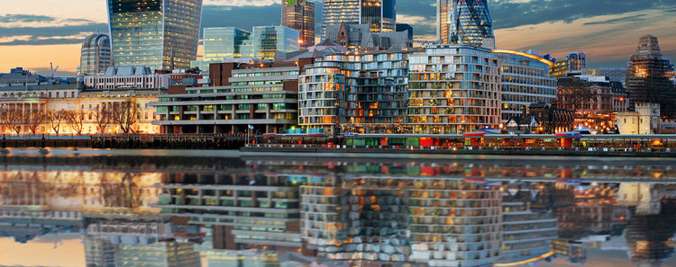 London from The Thames