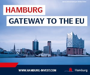 Hamburg - Gateway to the EU