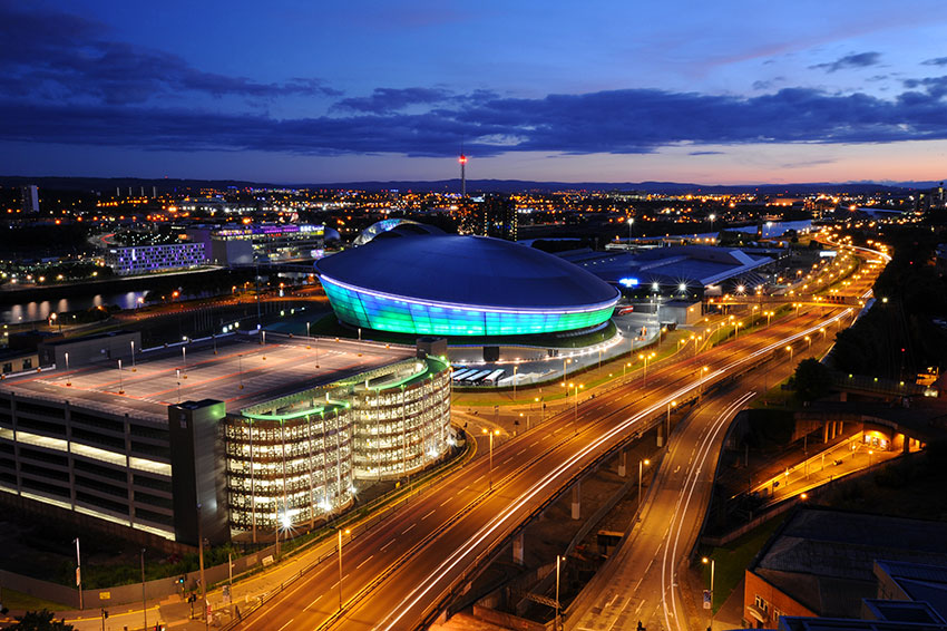 ) The SSE Hydro – Scotland's premier events venue situated in the Scottish Exhibition + Conference Centre on the banks of the River Clyde